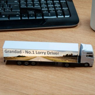 lorry personalised