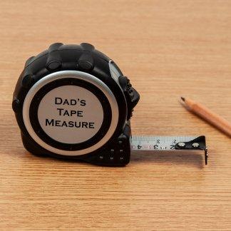 personalised tap measure