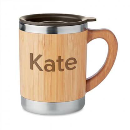 Personalised Bamboo Mug