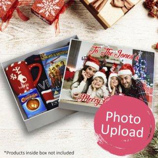 photo upload Christmas box