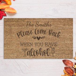 personalised door mat