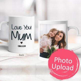 personalised mum photo mug