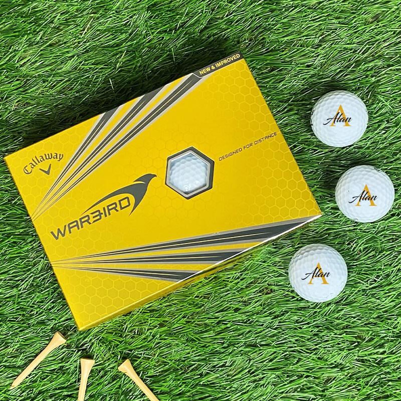 Personalised Callaway Golf Balls