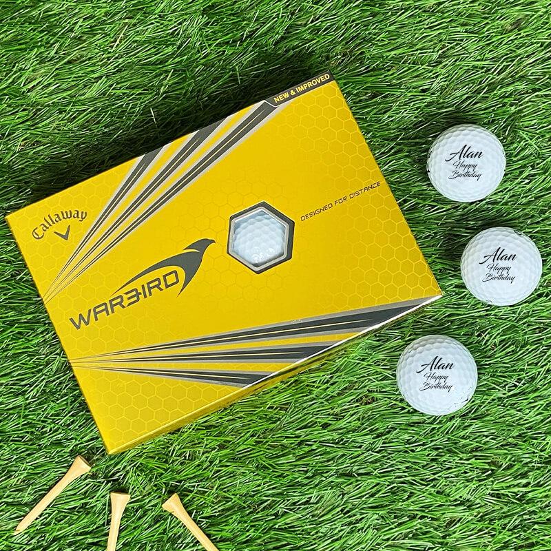 Customised Golf Balls