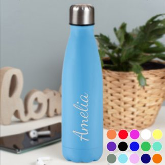 Personalised Colour Works Water Bottle