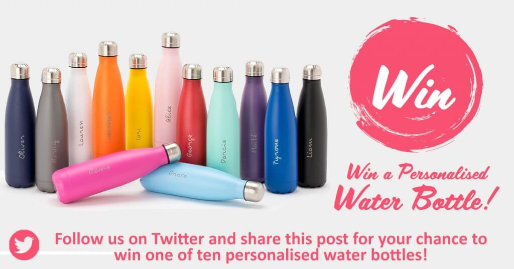 Personalised Water Bottle Giveaway